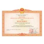 Công ty Cổ phần Siêu Chung Kỳ vinh dự đón nhận bằng khen của Thủ Tướng Chính Phủ