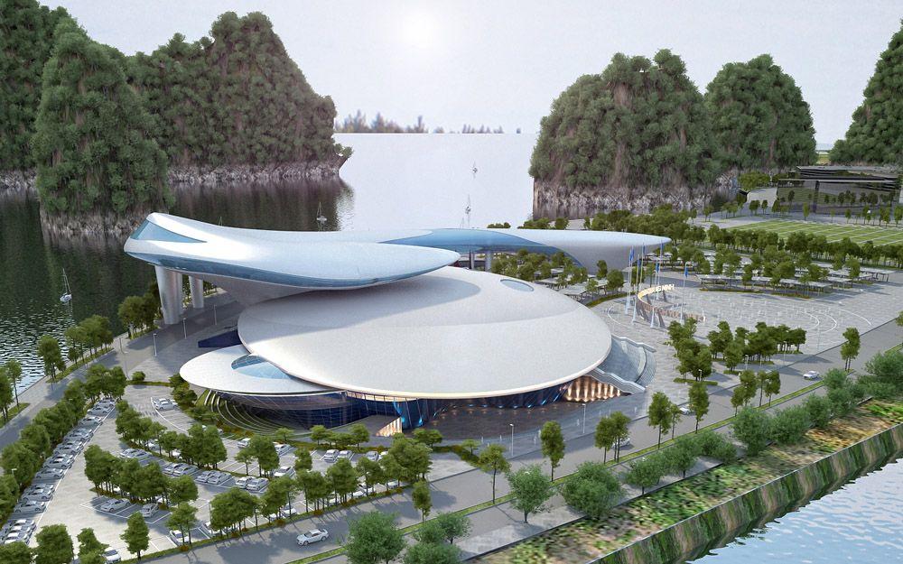 Cung Quy hoạch và Hội chợ Triển lãm tỉnh Quảng Ninh