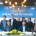 Công ty Cổ phần Siêu Chung Kỳ và Công ty TNHH APIC ký kết thỏa thuận hợp tác