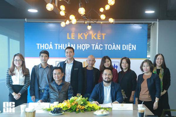 Lễ ký kết hợp tác toàn diện giữa Công ty Cổ phần Siêu Chung Kỳ (SCK) và Công ty TNHH Kiến trúc APIC (Apic) đã diễn ra trang trọng và đầm ấm vào ngày 11/03/2017 tại không gian sáng tạo Up Co-working, số 1 Lương Yên, Hà Nội.
