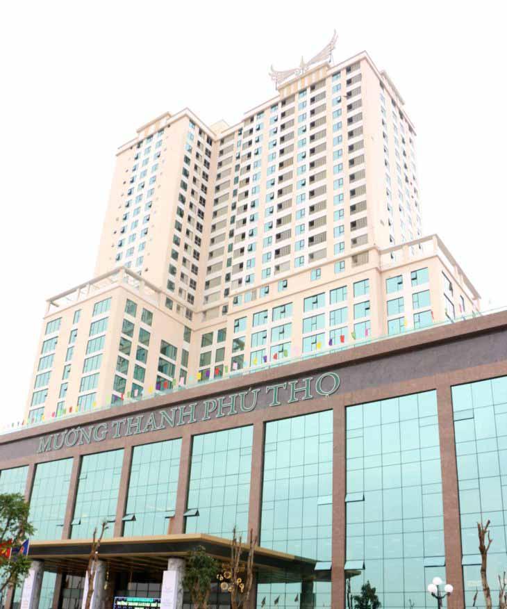 Khách sạn Mường Thanh Luxury Phú Thọ tọa lạc ngay trung tâm TP Việt Trì.