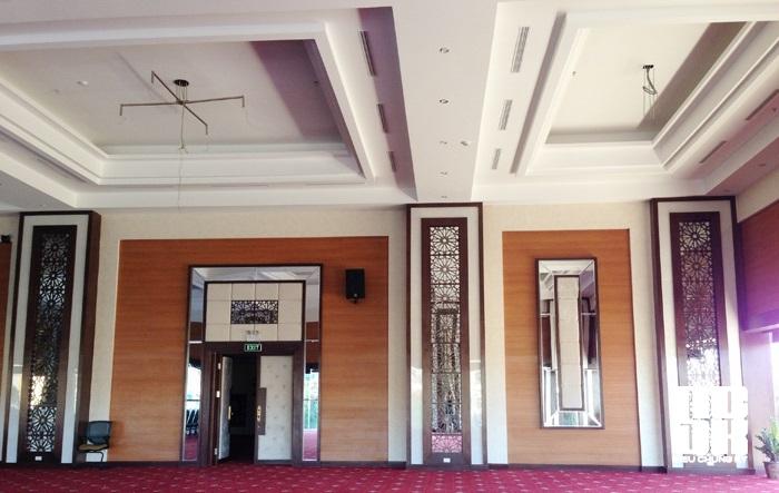 Khu Buffet khách sạn Mường Thanh Sông Lam  do Công ty Cổ phần Siêu Chung Kỳ tư vấn thi công lắp đặt.
