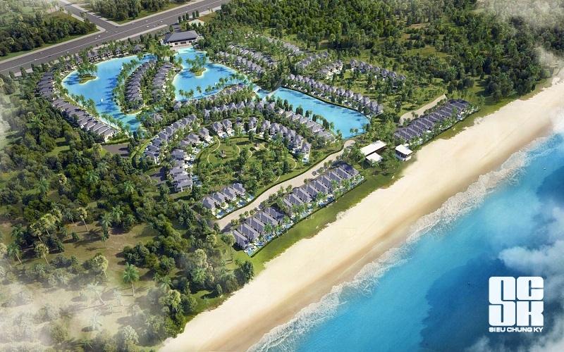 Tổng quan dự án tổ hợp biệt thự nghỉ dưỡng Vinpearl Cửa Sót - Hà Tĩnh.
