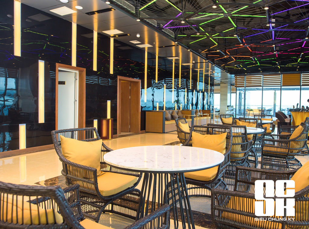 Rooftop bar muong thanh luxury danang hotel c ng ty c for Luxury hotel project