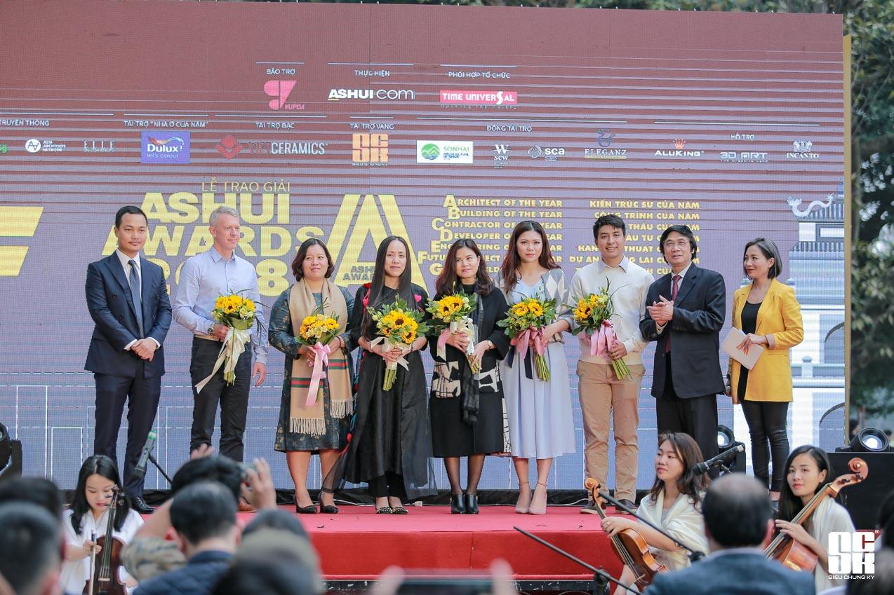 lễ trao giải ashui award sck nha tai tro vang