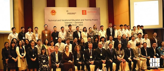 """the Conference of the project """"Vietnamese - Denmark Vocational training cooperation"""""""